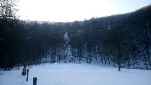 Bad Urach滝凍る2