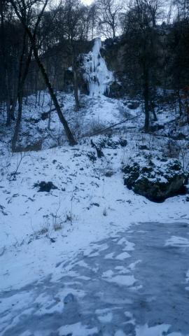 Bad Urach滝凍る3