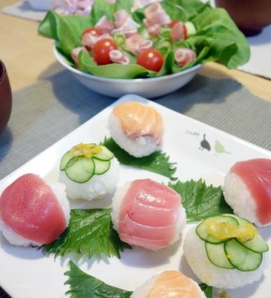 ひな祭り・てまり寿司①