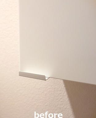 トイレ・IKEA・LILLÅNGENウォールキャビネット⑤