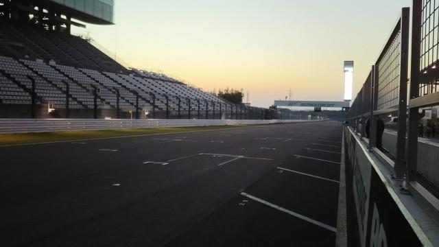 11月12日 朝のサーキット