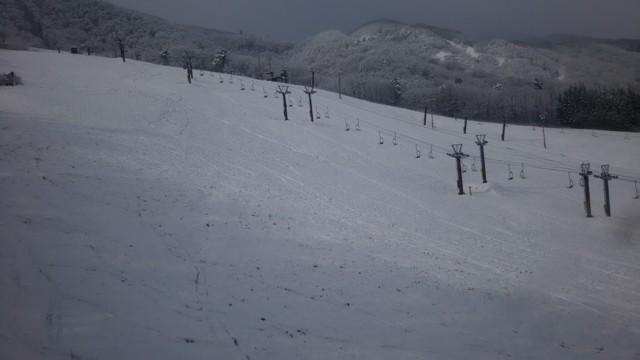 12月10日 下まで滑れる