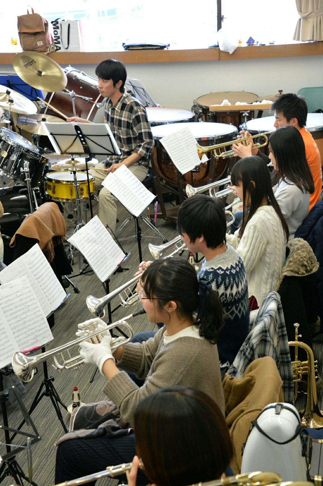 横浜市の一般吹奏楽 団員募集中!