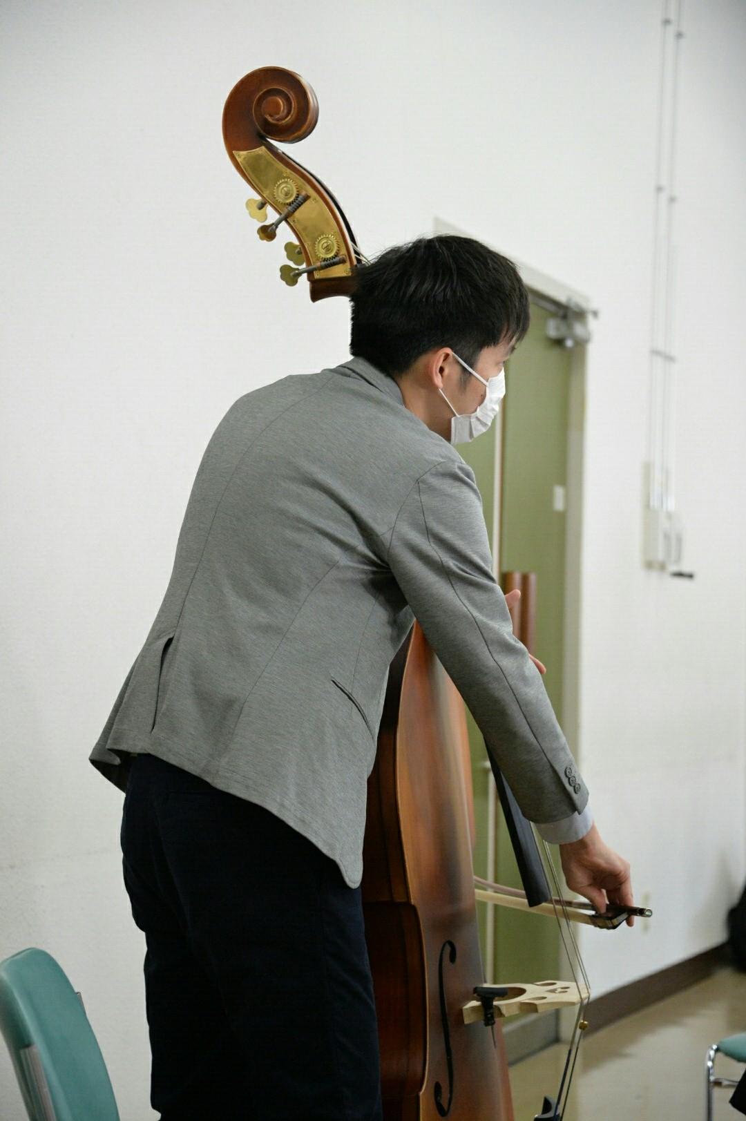 横浜市の一般吹奏楽 コントラバス募集中!