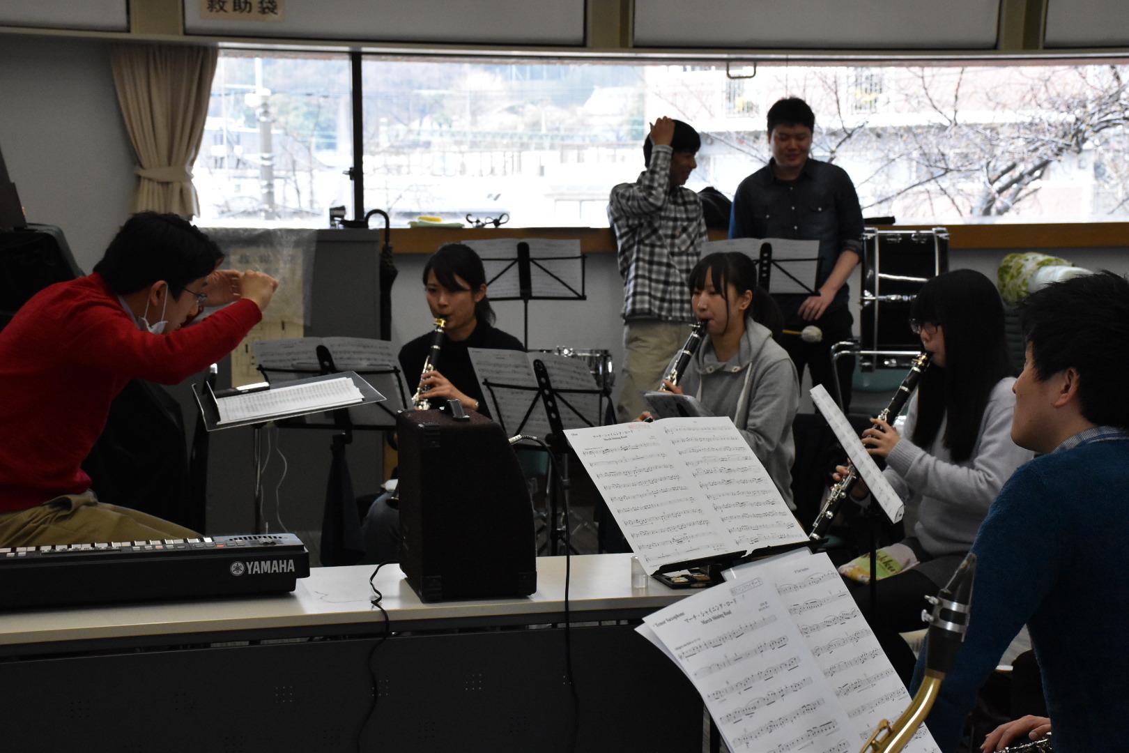 横浜市の一般吹奏楽 クラリネット募集中!