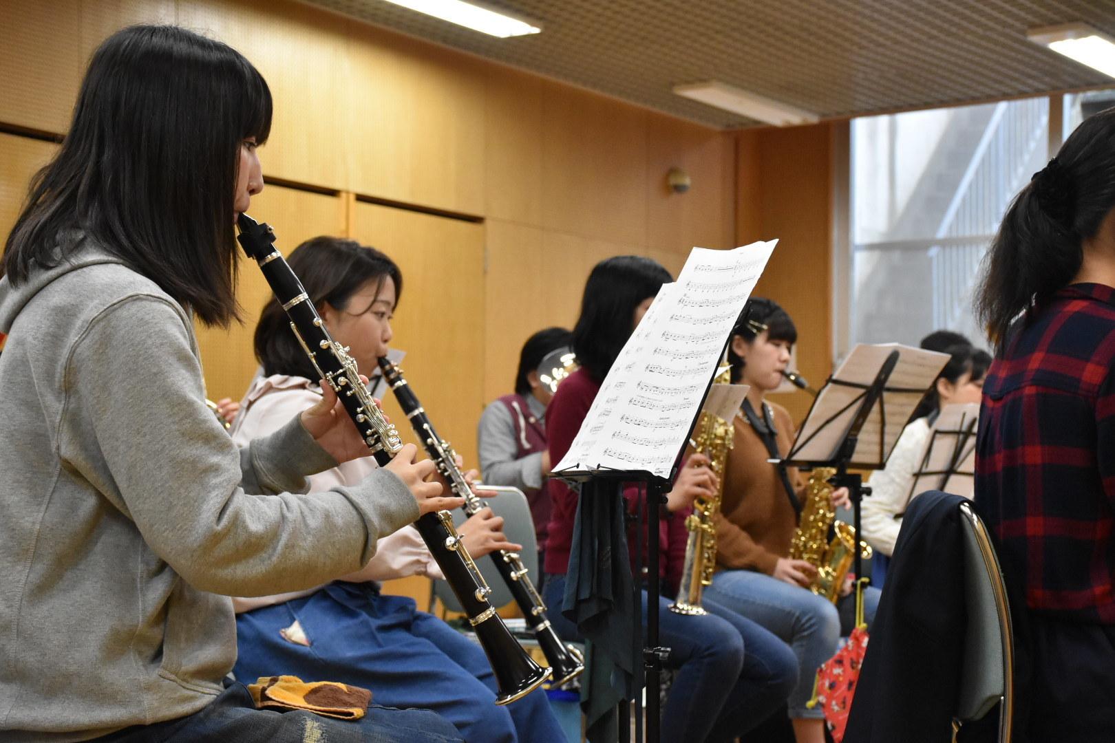 横浜市の一般吹奏楽 バスクラ募集中!