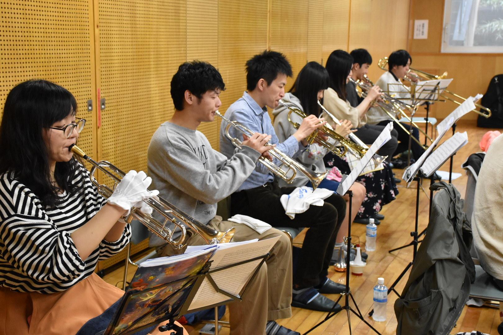 横浜市の一般吹奏楽 トロンボーン募集中!