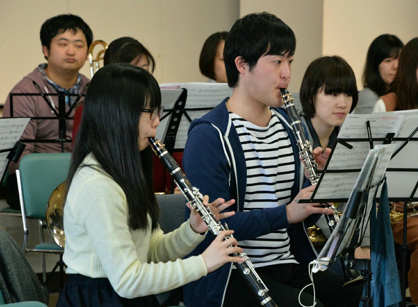 横浜市の一般吹奏楽 バスクラリネット募集中!