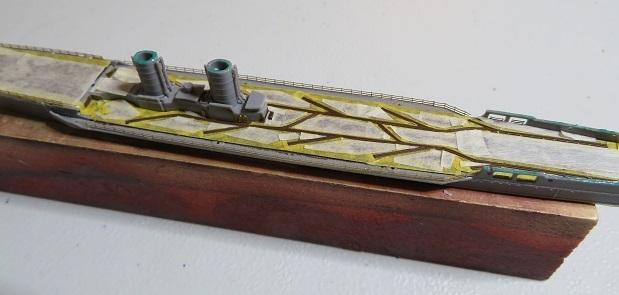 oi甲板のマスキング