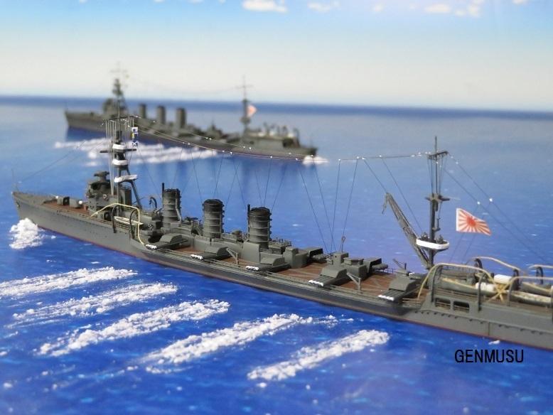 重雷装巡洋艦北上大井一斉発射