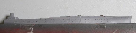 秋津洲船体側面