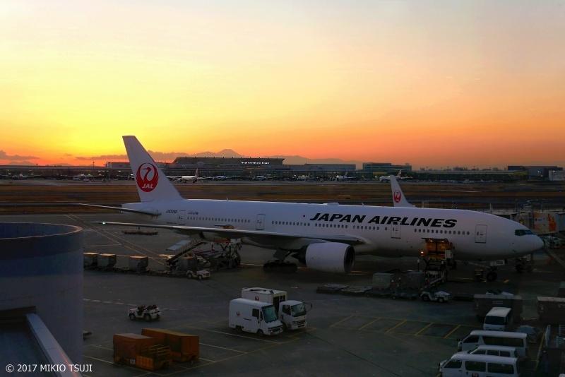 絶景探しの旅 - 0132 黄金色の冬の夕暮れ (東京都 大田区)