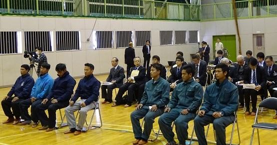 テクノアカデミー「外国人建設就労者帰国前研修」写真2blog