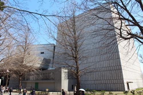 0077:東京文化会館 南側から①