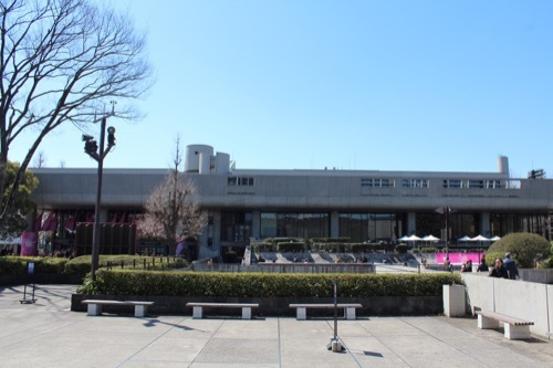 0077:東京文化会館 北側から②