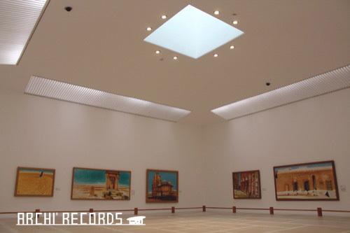 0171:秋野不矩美術館 第二展示室(クレ)