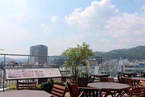 0230:大丸神戸店 屋上からの眺め①