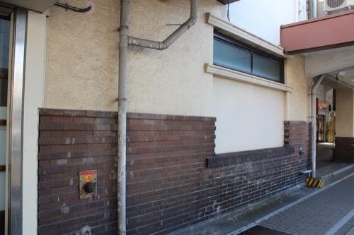 0240:JR兵庫駅舎 スクラッチタイル①