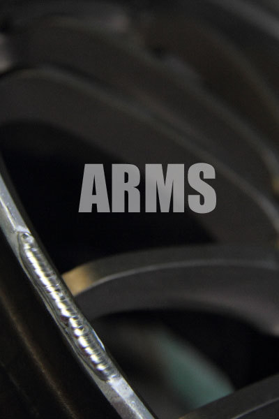 アルミホイールのリムの傷を修理 鍛造ホイールリペア