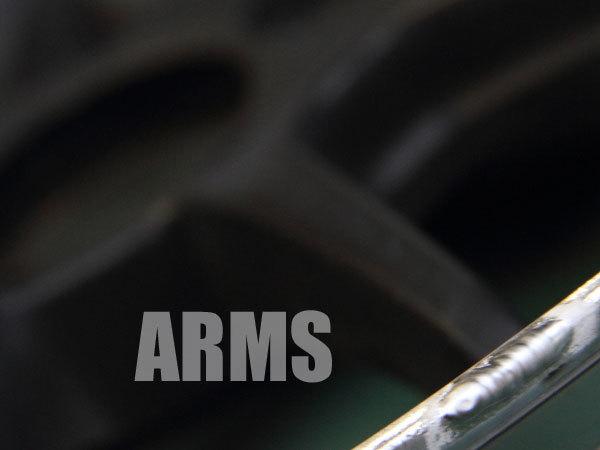 SSR プロフェッサーのリム傷修理