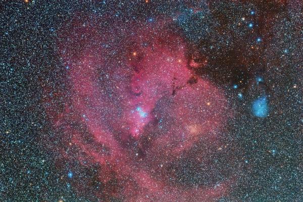 クリスマスツリー星雲とIC2169_20181111