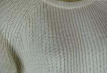 無印良品オーガニックコットン畦編みセーター 1
