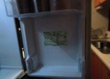 冷蔵庫ポケットの掃除