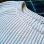 無印良品オーガニックコットン畦編みセーター2