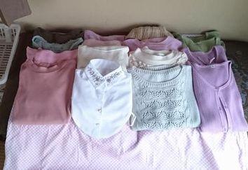 服の断捨離 広げる