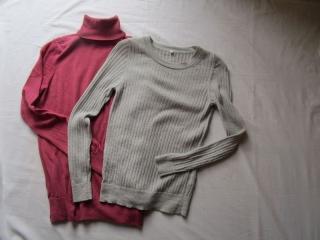 無印良品ニット・セーター2枚