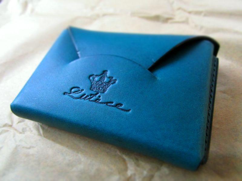 本革名刺入れカードケース イタリア本革 手縫い  (4)