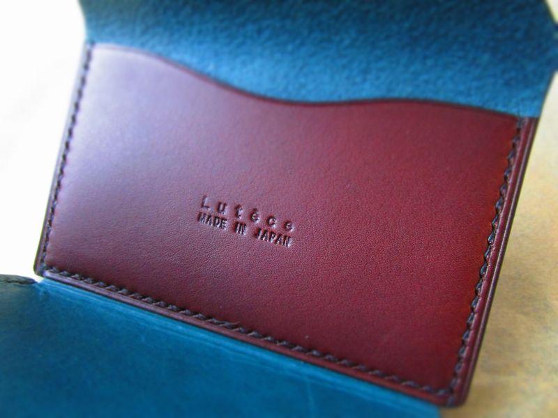 本革名刺入れカードケース イタリア本革 手縫い  (7)