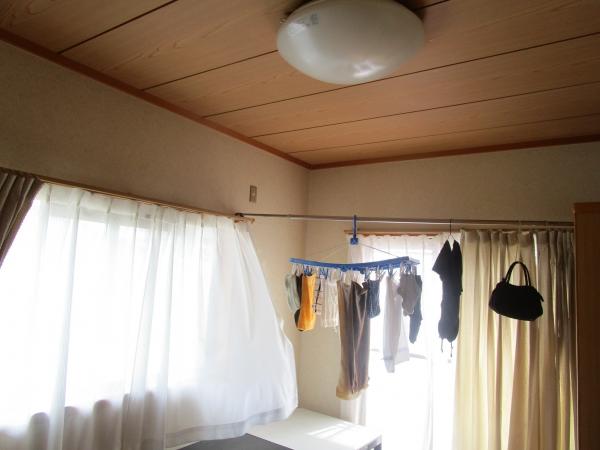部屋干し 2階の様子 (2)