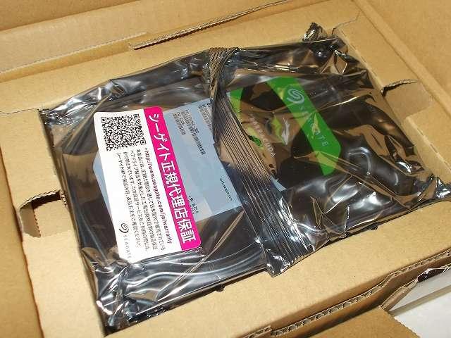 【Amazon.co.jp 限定】 Seagate HDD Barracuda 2TB メーカー保証2年+1年 延長保証付き ST2000DM006/EWN(FFP) 開封