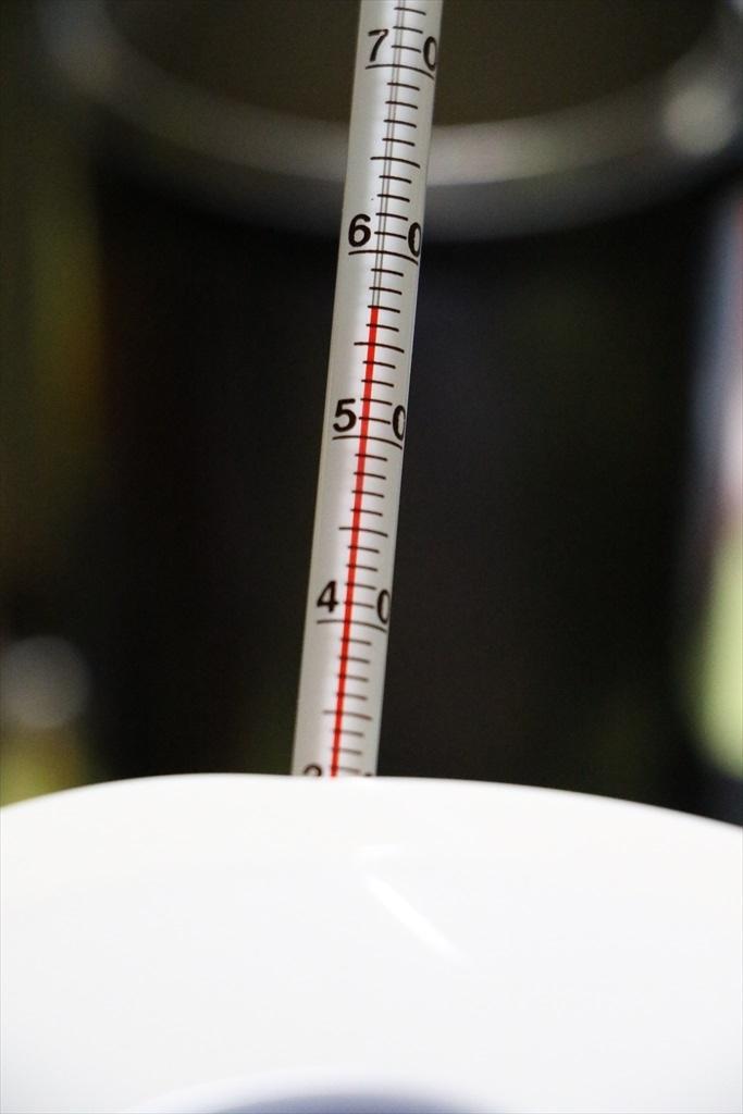 おかゆを一定温度まで冷ます_4