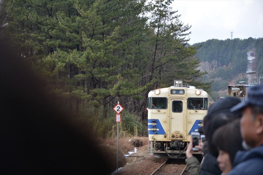 やっと列車が到着_1