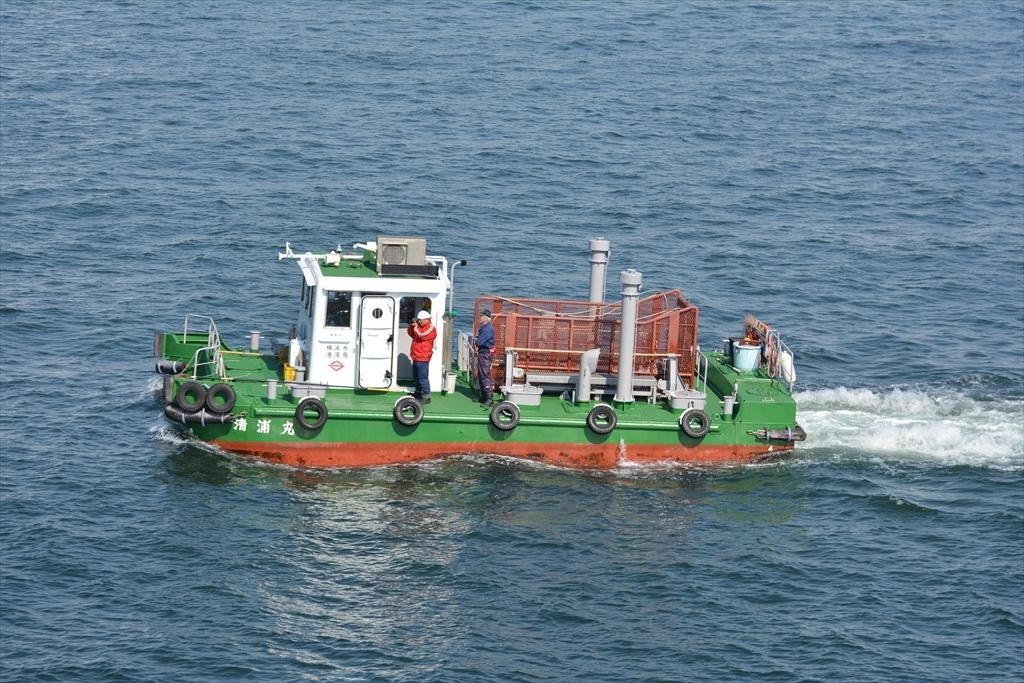 海洋清掃船の清浦丸