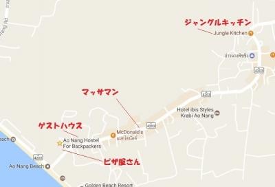 ジャングルキッチン地図