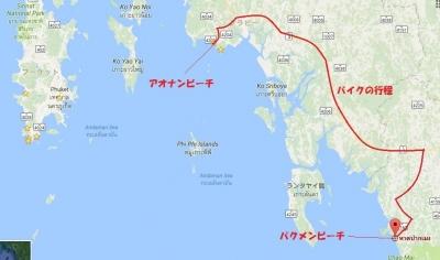 パクメンビーチ全体図