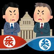 政治(ねじれ