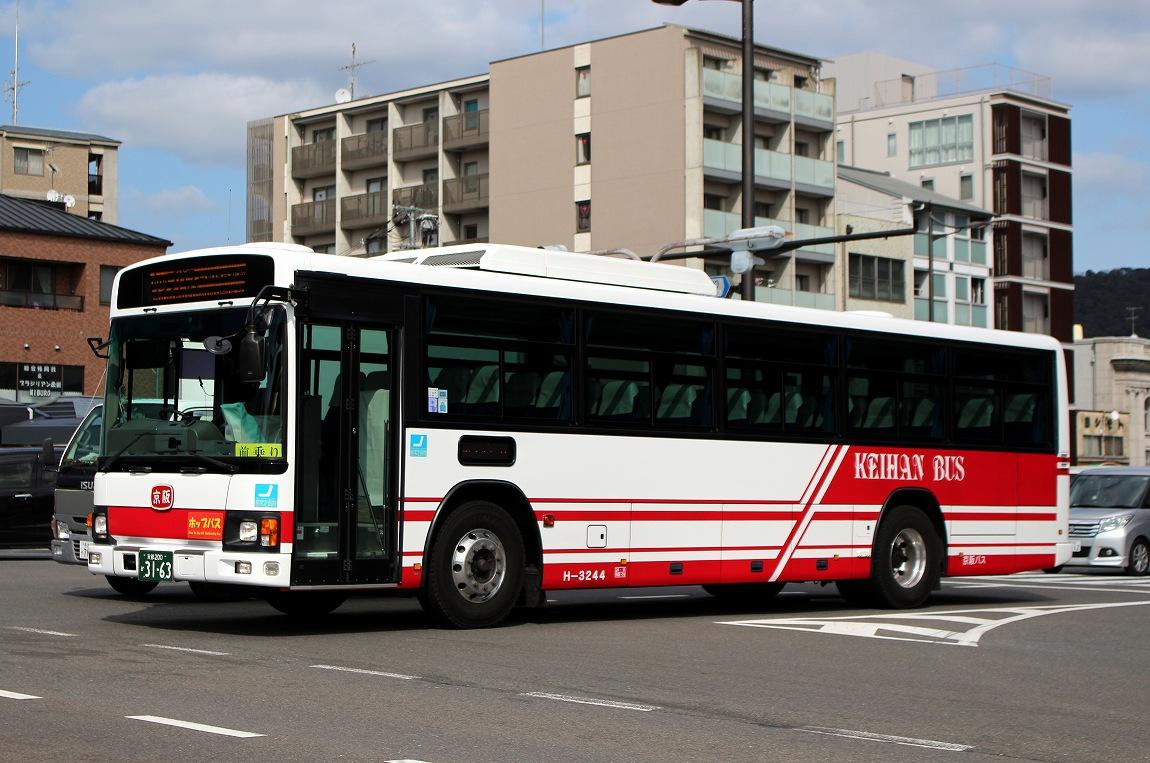 バス三昧 ... 京阪バス H-3244