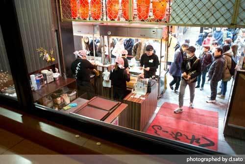 大阪府 大阪市 道頓堀 たこ焼き くれおーる 美味しいお店 グルメ 座れる 座席多め 写真 05