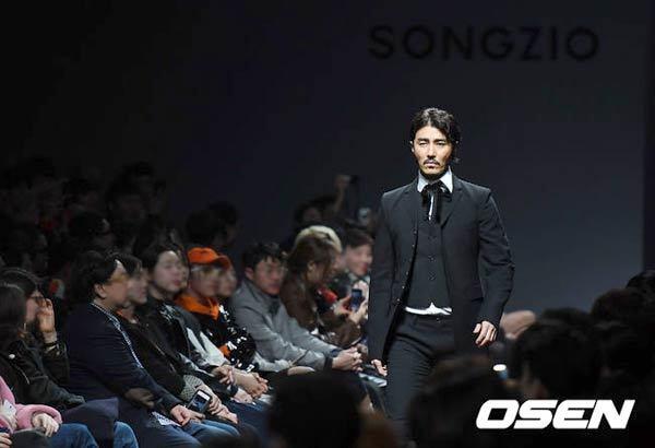 チャスンウォン 차승원 チャ・スンウォン ソウルファッションウィーク SONGZIO