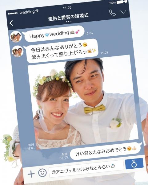 LINE風パネル