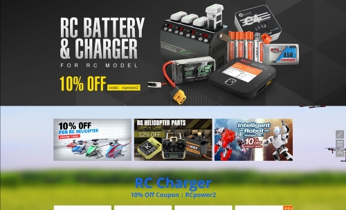 Charger coupon