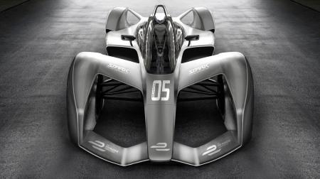 フォーミュラE:スパークレーシング、シーズン5に向けてのマシンのコンセプトアートを公開