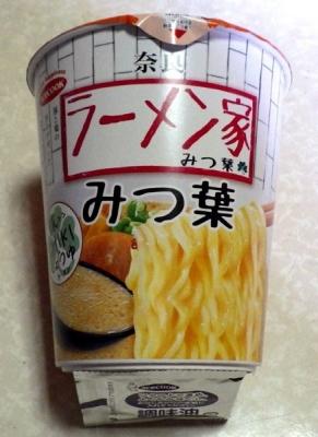 3/6発売 奈良 ラーメン家 みつ葉 豚CHIKIしょうゆラーメン