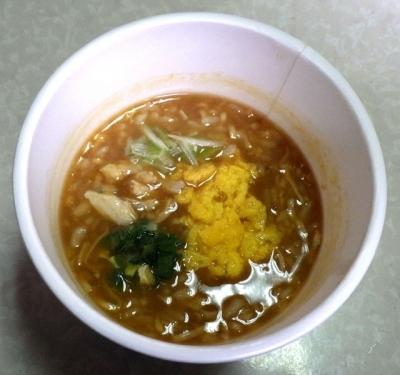 4/17発売 チキンラーメン ぶっこみ飯(できあがり)