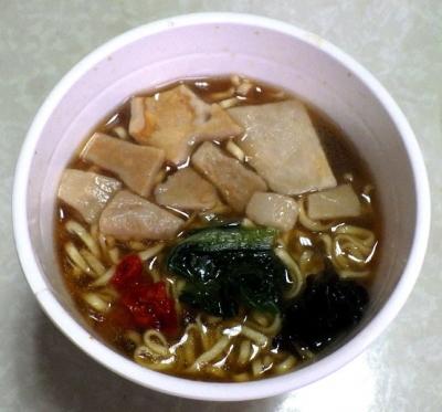 4/24発売 カップヌードル リッチ あわび風味オイスター煮込み(できあがり)
