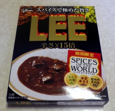 LEE 辛さ×15倍 SPICES OF THE WORLD